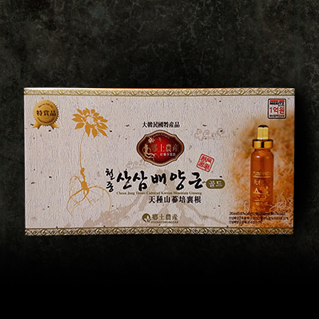 천종산삼배양근 골드 10P, Mountain Ginseng Cultured Wild Ginseng Roots  Gold 10P