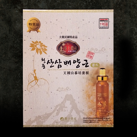 천종산삼배양근 골드 30P, Cultured Wild Ginseng Roots  Gold 30P