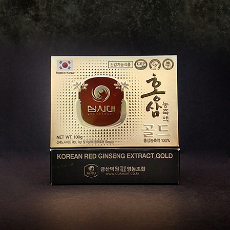 고려홍삼농축액 골드 100, Korean Red Ginseng concentrate Gold 100