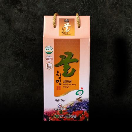 한국양봉농협 잡화 벌꿀 2kg,