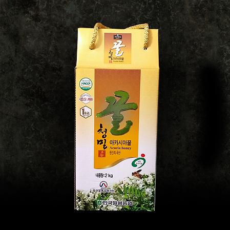 한국양봉농협 아카시아 벌꿀 2kg,