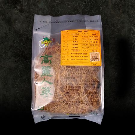 홍미삼 1등품, Red Tail Ginseng Root - First Quality