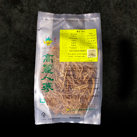 홍미삼 3등품, Red Tail Ginseng Root - Third Quality