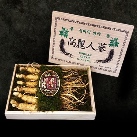명품 수삼선물세트 1호, Premium Raw Ginseng Gift Set  No.1