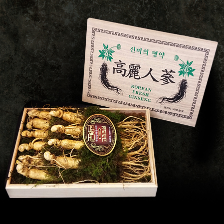 명품 수삼선물세트 2호, Premium Raw Ginseng Gift Set  No.2