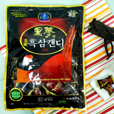 고려흑삼캔디 800g, Korean Black Ginseng candy 800g
