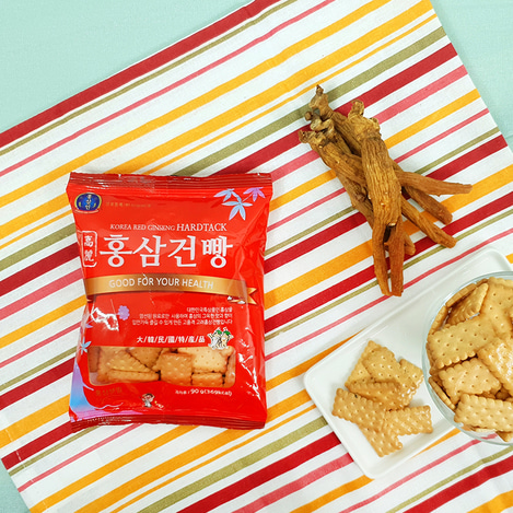고려홍삼건빵 90g, Korean Red Ginseng Hard Tack 90g