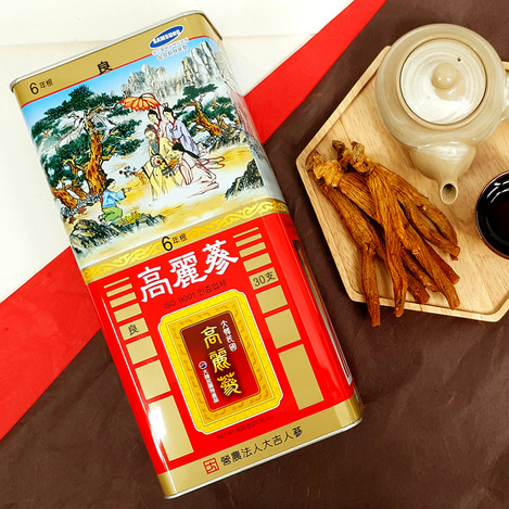[양삼] 6년근 고려홍삼 30지 600g, [Good Grade Ginseng] 6-year-old Korean Red Ginseng  30 pieces 600g