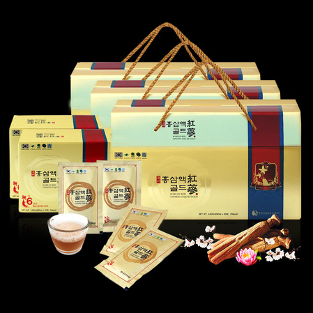 6년근 고려홍삼액골드 180포 할인팩, 6-year-old Korean Red Ginseng liquid extract Gold 180pieces - discounted pack