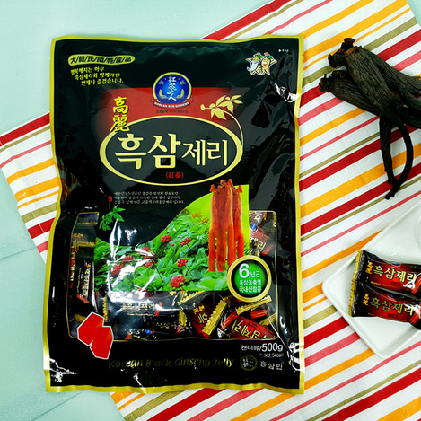고려흑삼제리(젤리) 500g, Korean Black Ginseng jelly 500g
