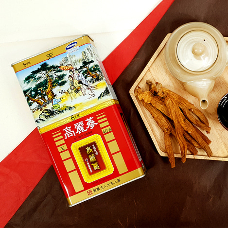 [천삼] 6년근 고려홍삼 40지 150g, [Heaven Grade Ginseng] 6-year-old Korean Red Ginseng  40 pieces 150g