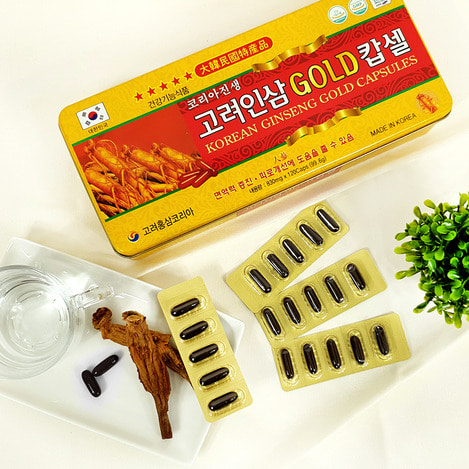 고려인삼캅셀 120 (캡슐,알약), Korean Ginseng capsule 120 (capsule, tablet)